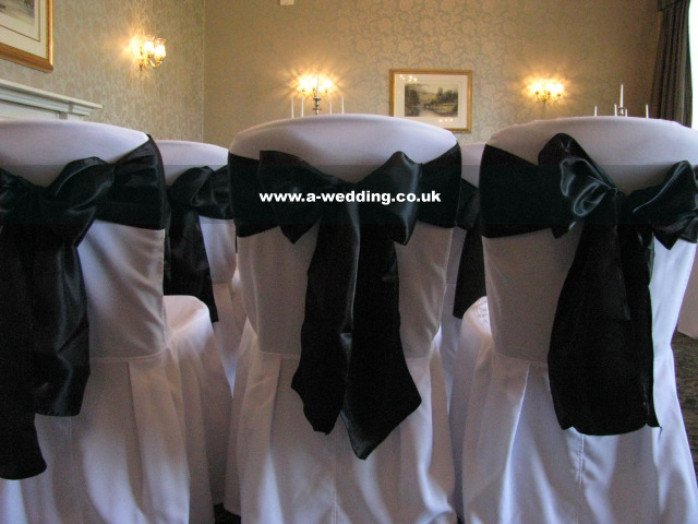 chair covers and sashes hire for a wedding